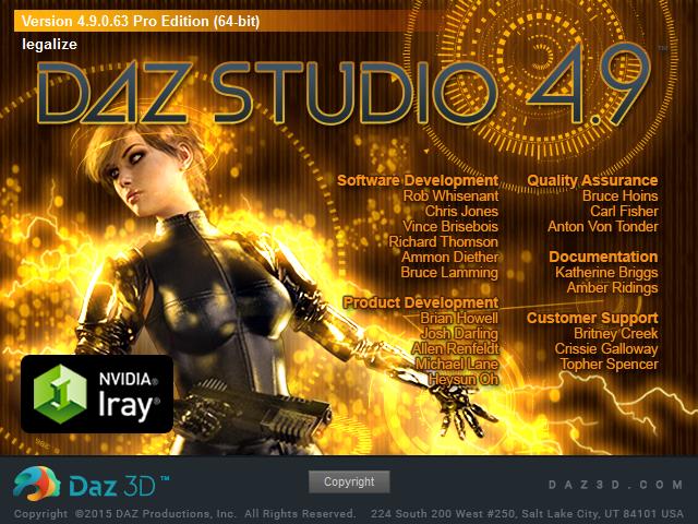 About_DAZ_Studio_4.9